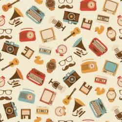 designer vintage vintage objects pattern design vector free
