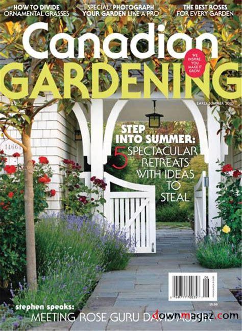 canadian gardening june    magazines