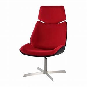 Fauteuil De Bureau Design : fauteuil design de bureau rouge cin achat vente chaise de bureau rouge cdiscount ~ Teatrodelosmanantiales.com Idées de Décoration