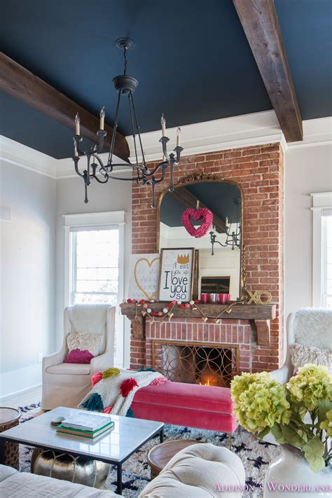 Our Colorful, Whimsical & Elegant Valentine's Day Living