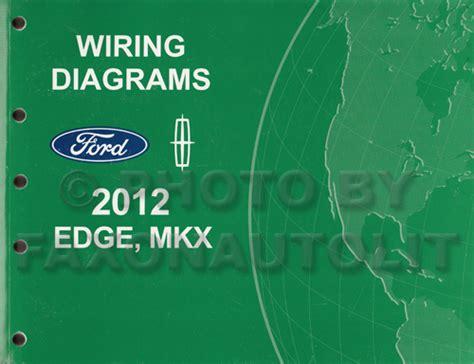 Ford Edge Lincoln Mkx Wiring Diagram Manual Original