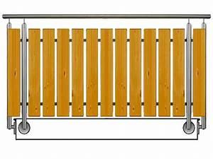 Holz Für Balkongeländer : balkongel nder aus holz edelstahl unsere modelle ~ Lizthompson.info Haus und Dekorationen
