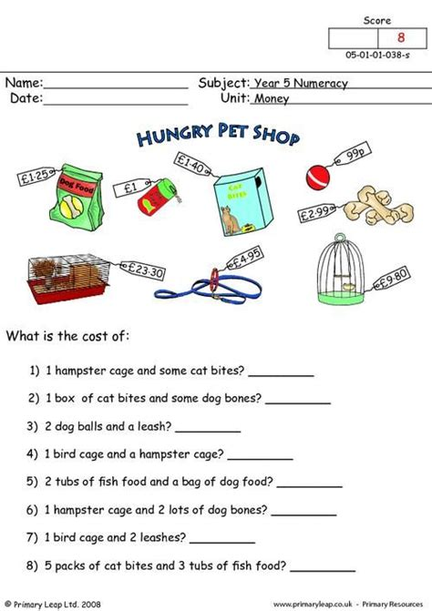 primaryleap co uk money worksheet maths printable worksheets primaryleap pinterest