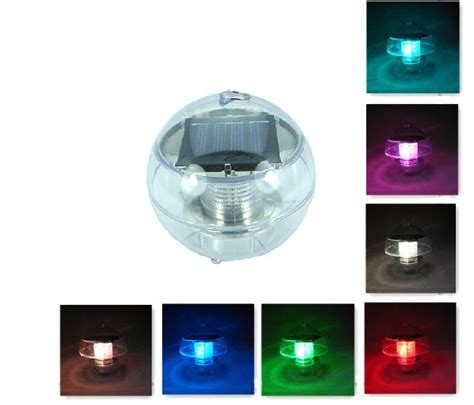 buy wholesale floating solar pond lights from china