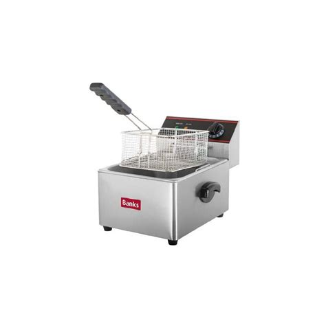 fryer ef6 counter tank single banks fat deep electric fryers caterbox
