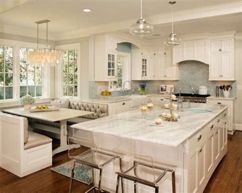 Kitchen Island Booth Ideas by 25 Best Ideas About Kitchen Booths On Booth