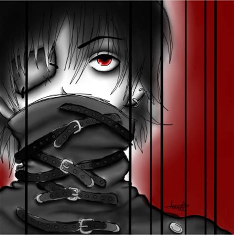Creepy Anime Wallpaper - creepy anime by xatarix on deviantart