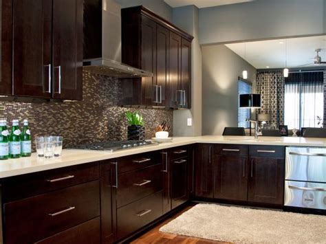 espresso kitchen cabinets pictures ideas tips