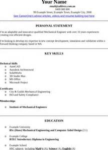 mechanical engineer cv template for excel pdf and word