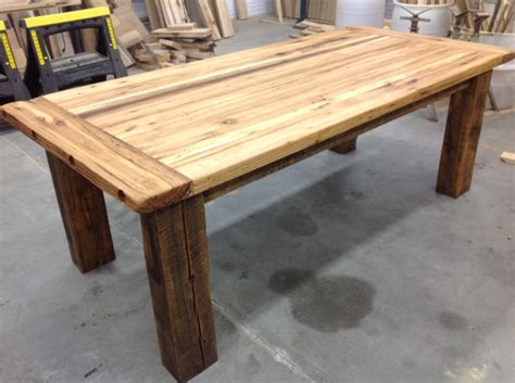 How To Make A Tabletop Out Of Reclaimed Wood Quick