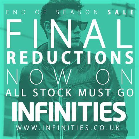 InfinitiesSale final reductions - The Rock Bury Shopping ...