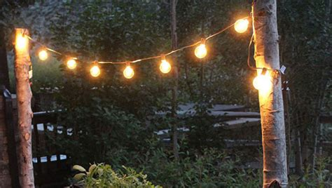 Get This Romantically Rustic Diy Backyard Lighting For