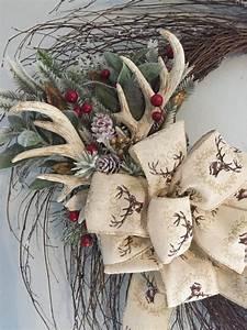 Best 25+ Antler Wreath ideas on Pinterest | Diy door ...