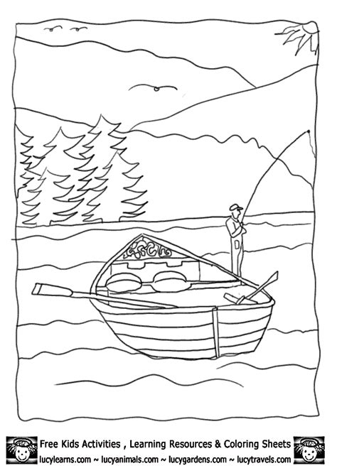 row row row  boat coloring page coloring home