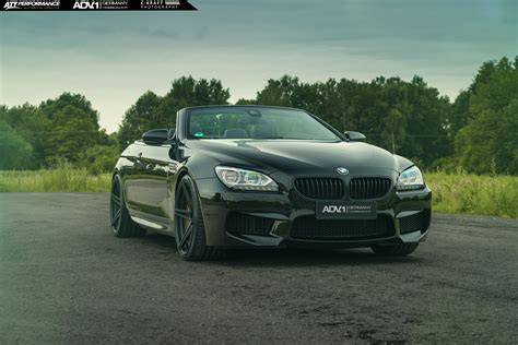 Bmw M6 Convertible With Adv1 Wheels