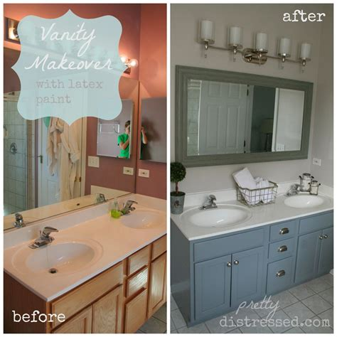 bathroom cabinet paint ideas it 39 s a bathroom makeover on a budget muscari of