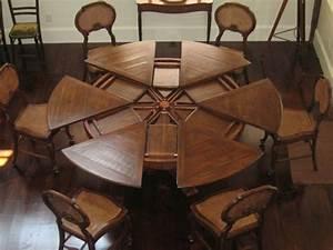 Table Ronde 8 Personnes : table ronde extensible 10 personnes table et chaise blanche maison boncolac ~ Teatrodelosmanantiales.com Idées de Décoration