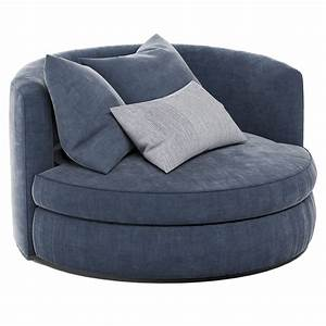 Cozy, Reading, Nook, Chair, 2, 3d, Model