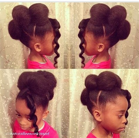 natural hairstyles for kids so cute and simple adults