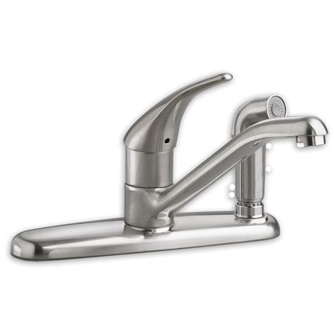 kitchens faucet standard colony 1 handle kitchen faucet with