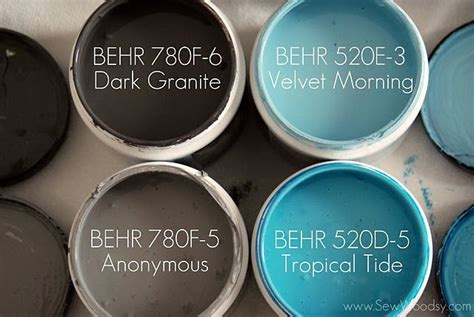 behr tropical tide paint ideas