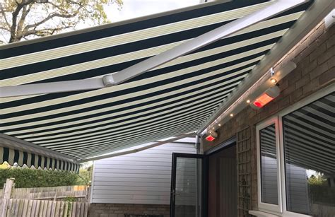 electric awning  heaters  light track southampton