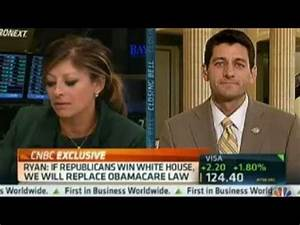 Rep. Ryan on CNBC's Closing Bell with Maria Bartiromo ...
