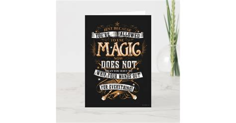 Each player is allowed two summoner spells chosen from a list. Harry Potter Spell | Just Because You're Allowed Card | Zazzle.com