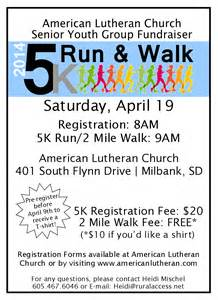 wedding bulletins templates alc senior youth fundraiser 5k run 2 mile walk
