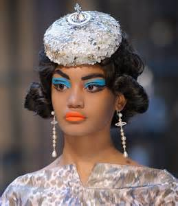 hair fascinators style crush vivienne westwood label 2013