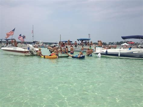 Pontoon Boats Destin Harbor by Destin X Pontoon Boat Rental Departing From Destin
