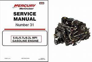 Mercruiser  31 5 0l    5 7l    6 2l Mpi Engine Service