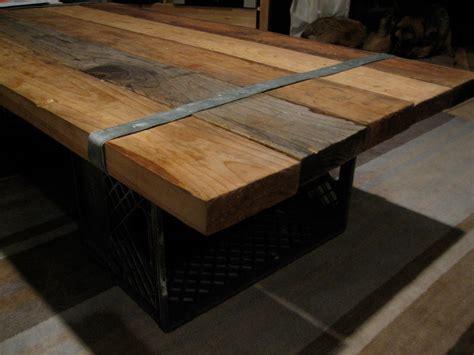 Diy Reclaimed Wood Coffee Table-home Design