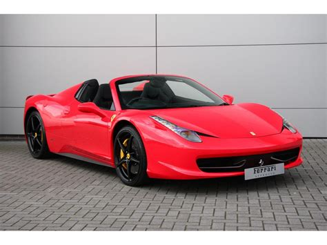Used 458 Spider by Used 2012 458 Spider For Sale In Swindon Pistonheads