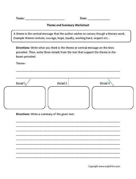 5th grade summarizing worksheet worksheets for all
