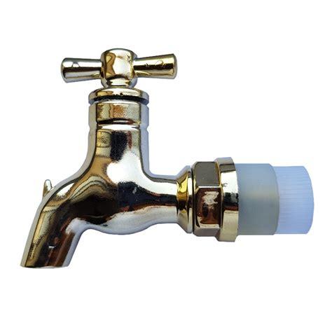 rubinetto plastica rubinetto in plastica ottonata per botte in legno nella