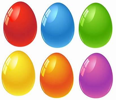 Easter Eggs Egg Clipart Clip Transparent Colored