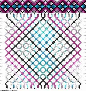 Diy Free Friendship Bracelet Pattern  U0026 Knot Instructions