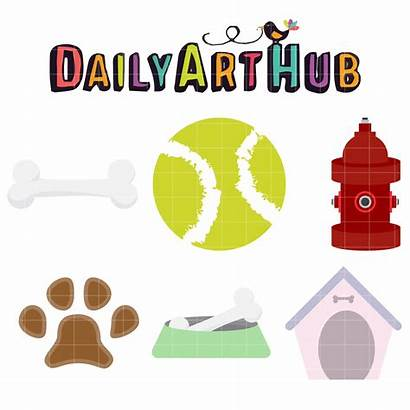 Dog Stuff Clip Clipart Pet Items Objects