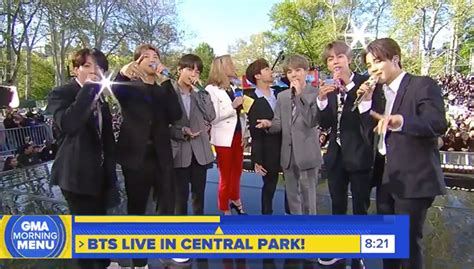 Bts' 'gma' Performance 2019