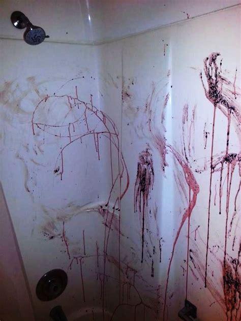 halloween decorations bathroom  scare   guests