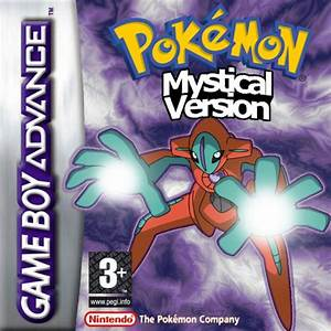 pokemon mystical version nintendo game boy advance
