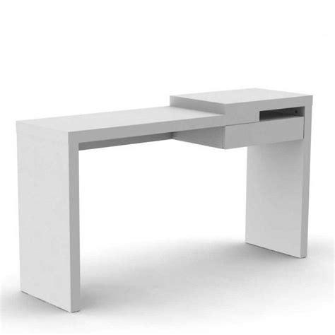 bureau avec tiroirs temahome reef bureau design blanc mat avec tiroir