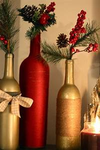 Diy, Holiday, Wine, Bottles