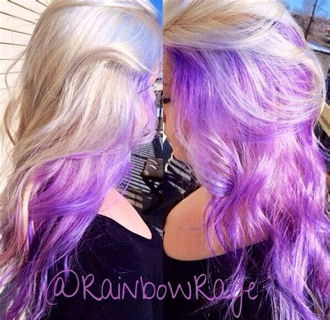Best 20 Purple Underneath Hair Ideas On Pinterest Dyed
