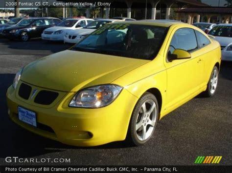 2008 Pontiac G5 Gt by Competition Yellow 2008 Pontiac G5 Gt Interior