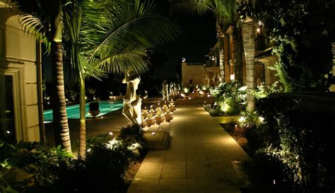 led light design amusing outdoor led landscape lighting