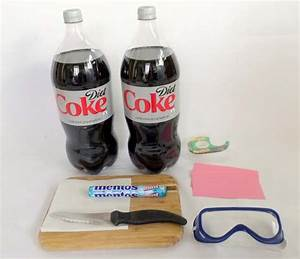 Home Science Activity Erupting Diet Cokeu00ae With Mentosu00ae