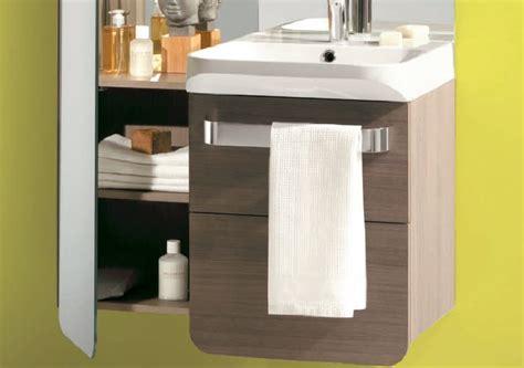salle de bains cedeo meuble salle de bain suspendu cedeo photo 5 15 meuble 2 tiroirs en stratifi 233 bois gris plan