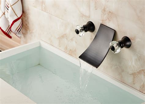 Oneonta Wall Mounted Dual Handle Oil Rubbed Bronze